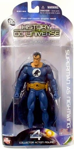 DC Direct History of the DC Universe Series 4 Action Figure Superman As Nightwing