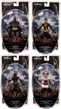 DC Direct Batman Arkham Asylum Series 1 Set of 4 Action Figures [Batman, Joker with Scarface, Scarecrow & Harley Quinn]