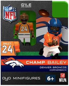 OYO Football NFL Building Brick Minifigure Champ Bailey [Denver Broncos]
