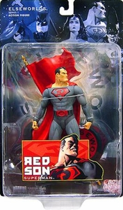 DC Direct Elseworlds Series 1 Action Figure Red Son Superman