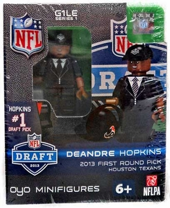 OYO Football NFL Draft First Round Picks Building Brick Minifigure DeAndre Hopkins [Houston Texans] #27 Draft Pick