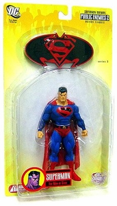 DC Direct Superman & Batman Series 3 Public Enemies Action Figure Future Superman
