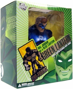DC Direct Uni-Formz Limited Editon Vinyl Figure Green Lantern: Hal Jordan as a Blue Lantern