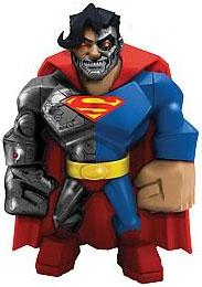 DC Direct Uni-Formz Limited Editon Vinyl Figure Cyborg Superman