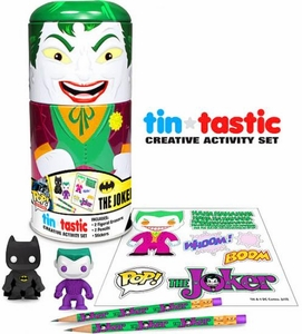 Funko DC Comics Tin-Tastic Creative Activity Set Joker
