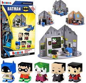 Funko Boxos Papercraft Playset Batman