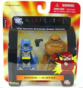 DC Universe Minimates Series 7 Mini Figure 2-Pack Batman & Clayface
