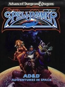 Advanced Dungeons & Dragons 2nd Edition Spelljammer Vintage Book Softcover Concordance of Arcane Space [Used Condition: Near Mint]