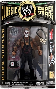 WWE Wrestling Classic Superstars Series 9 Action Figure Papa Shango