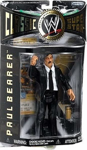 WWE Jakks Pacific Wrestling Classic Superstars Series 9 Action Figure Paul Bearer with Bow Tie
