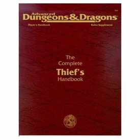 Advanced Dungeons & Dragons Vintage Book Softcover The Complete Thief's Handbook Rules Supplement 2111 [Used Condition: Fine]