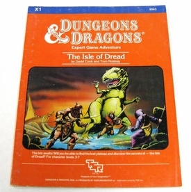 Dungeons & Dragons Vintage Book Softcover Module The Isle of Dread [Used Condition: Incomplete Fine]