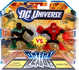 DC Universe Action League Mini Figure 2-Pack John Stewart Vs. Atrocitus