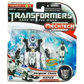Transformers 3: Dark of the Moon Human Alliance Basic Action Figure Ice Pick with Sergeant  Chaos