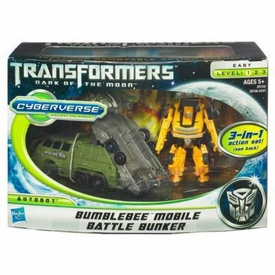 Transformers 3: Dark of the Moon Cyberverse Action Figure Set Bumblebee with Mobile Battle Bunker