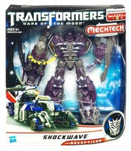 Transformers 3: Dark of the Moon Voyager Action Figure Shockwave