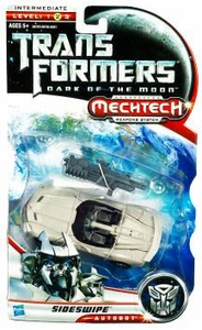 Transformers 3: Dark of the Moon Deluxe Action Figure Sideswipe [Silver Version]