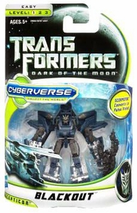 Transformers 3: Dark of the Moon Cyberverse Commander Action Figure Blackout