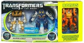 Transformers 3: Dark of the Moon Exclusive Cyberverse Legion Action Figure 3-Pack Bumblebee, Soundwave & Rodimus