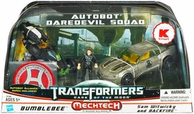 Transformers 3: Dark of the Moon Exclusive Autobot Daredevil Squad [Bumblebee with Sam Witwicky & Backfire]