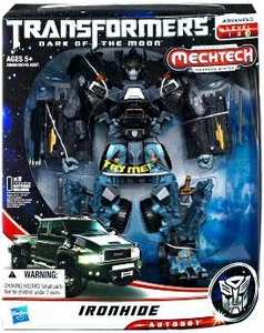 Transformers 3: Dark of the Moon Leader Mechtech Action Figure Ironhide