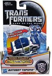 Transformers 3: Dark of the Moon Robo Power Activators Action Figure Autobot Topspin