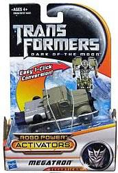 Transformers 3: Dark of the Moon Robo Power Activators Action Figure Megatron