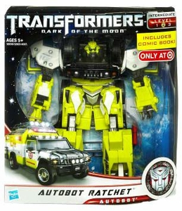 Transformers 3: Dark of the Moon Exclusive Voyager Action Figure Autobot Ratchet