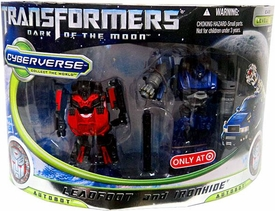 Transformers 3: Dark of the Moon Exclusive Cyberverse Legion Action Figure 2-Pack Leadfoot & Ironhide