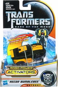 Transformers 3: Dark of the Moon Robo Power Activators Action Figure Recon Bumblebee