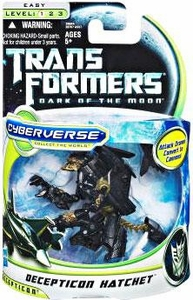 Transformers 3: Dark of the Moon Cyberverse Commander Action Figure Decepticon Hatchet