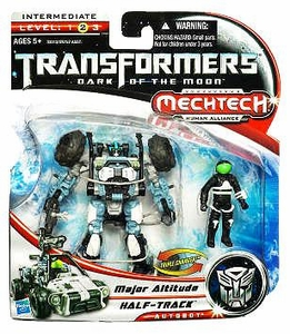 Transformers 3: Dark of the Moon Human Alliance Basic Action Figure Half-Track with Major Altitude
