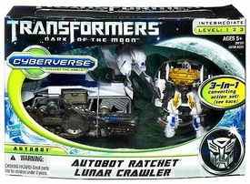 Transformers 3: Dark of the Moon Cyberverse Action Figure Set Autobot Ratchet & Lunar Crawler