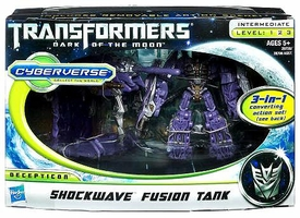 Transformers 3: Dark of the Moon Cyberverse Action Figure Set Shockwave with Fusion Tank