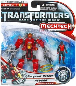 Transformers 3: Dark of the Moon Human Alliance Basic Action Figure Reverb with Sergeant Detour