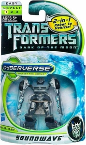 Transformers 3: Dark of the Moon Cyberverse Legion Action Figure Soundwave