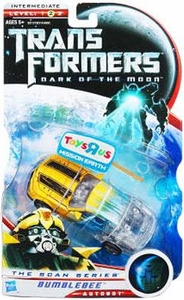 Transformers 3: Dark of the Moon Exclusive Deluxe Action Figure Bumblebee [The Scan Series]