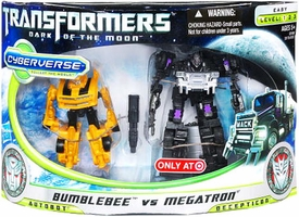 Transformers 3: Dark of the Moon Exclusive Cyberverse Legion Action Figure 2-Pack Bumblebee vs. Megatron