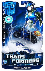 Transformers Prime Deluxe Action Figure First Edition Arcee