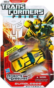 Transformers Prime Robots in Disguise Deluxe Action Figure Bumblebee [Snap-On Blasters!]