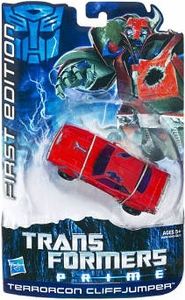 Transformers Prime Deluxe Action Figure First Edition Terrorcon Cliffjumper