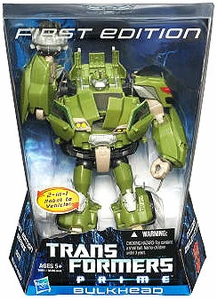 Transformers Prime Voyager Action Figure First Edition Bulkhead