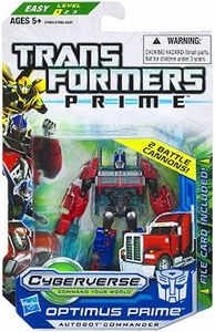 Transformers Prime Cyberverse Commander Action Figure Optimus Prime