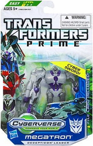 Transformers Prime Cyberverse Commander Action Figure Megatron