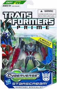 Transformers Prime Cyberverse Commander Action Figure Starscream