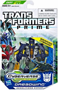 Transformers Prime Cyberverse Commander Action Figure Dreadwing