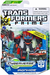 Transformers Prime Cyberverse Commander Action Figure Ironhide