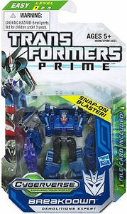 Transformers Prime Cyberverse Legion Action Figure Breakdown