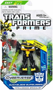 Transformers Prime Cyberverse Legion Action Figure Quickblade Bumblebee