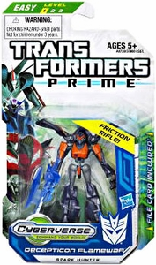 Transformers Prime Cyberverse Legion Action Figure Flamewar